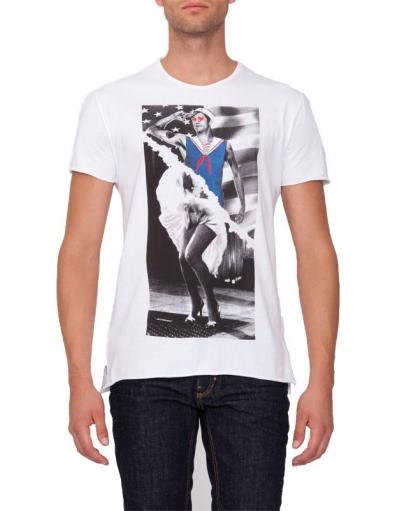 Pop hearts - T-shirts - Wit - Antony Morato