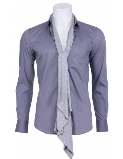 Pop heart overhemd - Overhemden - Grijs - Antony Morato