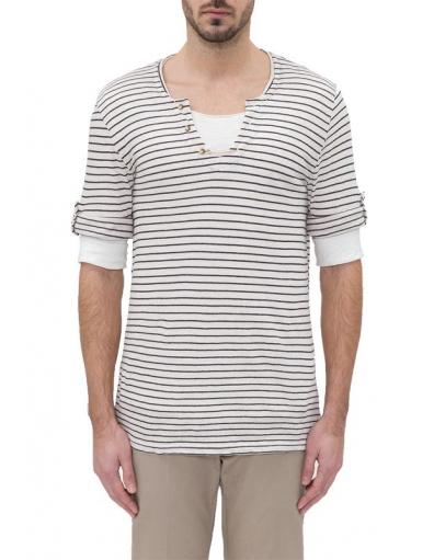 WHITE SAINT TROPEZ - T-shirts - crème - Antony Morato