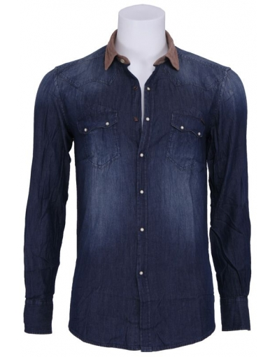 Denim Sushi Bar - Overhemden - Blauw - Antony Morato